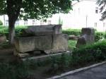 Római sírkert a Történelmi Múzeum előtt