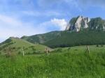 A Székelykő alatt sűrű erdők, legelők és szántóföldek helyezkednek el