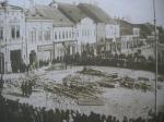 A híres Füssy nyomda a gázrobbanás után (1917)