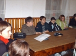 Petőfi felolvasóest az Aranyosszéki Népfőiskolán -2009.01.07-